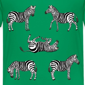 zebra Baby & Toddler Shirts - Toddler Premium T-Shirt