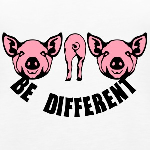 be different pig Tanks - Women's Premium Tank Top
