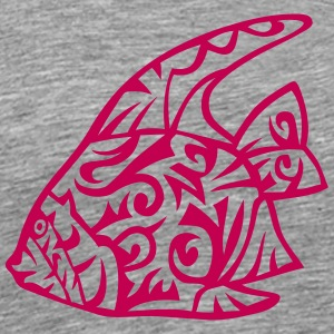 exotic fish tribal 83 T-Shirts - Men's Premium T-Shirt