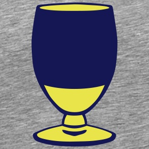 alcohol aperitif glass yellow 1007 T-Shirts - Men's Premium T-Shirt