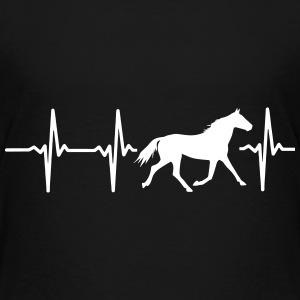 I LOVE HORSES! MY HEART BEATS FOR HORSES! Baby & Toddler Shirts - Toddler Premium T-Shirt