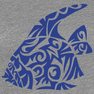 exotic fish tribal 82 T-Shirts - Women's Premium T-Shirt