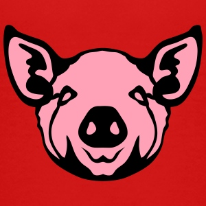 head pig face 8 Kids' Shirts - Kids' Premium T-Shirt