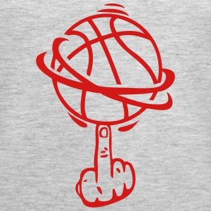 basketball finger fuck finger rotates Tanks - Women's Premium Tank Top