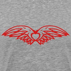 double wing 100240 T-Shirts - Men's Premium T-Shirt
