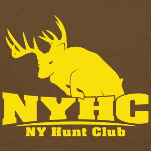 NYHC Backside - Men's T-Shirt