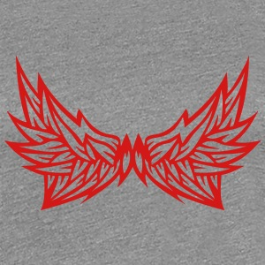 double wing 100248 T-Shirts - Women's Premium T-Shirt