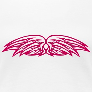 double wing 100244 T-Shirts - Women's Premium T-Shirt