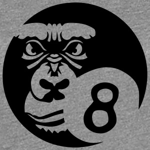 billiard ball sports gorilla logo 0 T-Shirts - Women's Premium T-Shirt