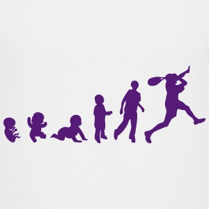 evolution squash racket 1 Kids' Shirts - Kids' Premium T-Shirt