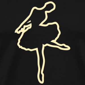 ballet dancer 1672 T-Shirts - Men's Premium T-Shirt