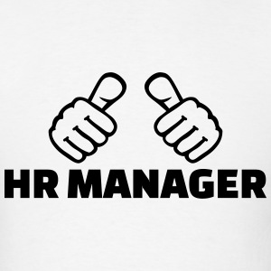 HR Manager T-Shirts - Men's T-Shirt
