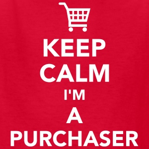 Keep calm I'm a purchaser Kids' Shirts - Kids' T-Shirt