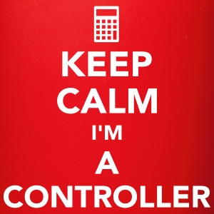 Keep calm I'm a controller Mugs & Drinkware - Full Color Mug