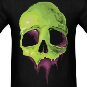 VK Liquid Skull T-Shirts - Men's T-Shirt
