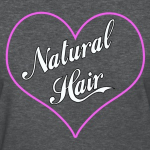 Love Natural Hair Heart - Women's T-Shirt