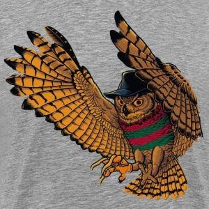 Owl Freddy - Men's Premium T-Shirt