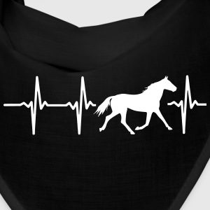 I LOVE HORSES! MY HEART BEATS FOR HORSES! Caps - Bandana