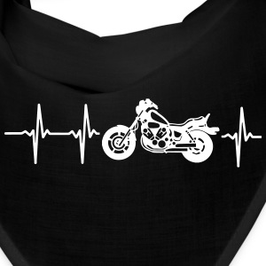 MY HEART BEATS FOR MY MOTORCYCLE! Caps - Bandana