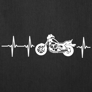 MY HEART BEATS FOR MY MOTORCYCLE! Bags & backpacks - Tote Bag