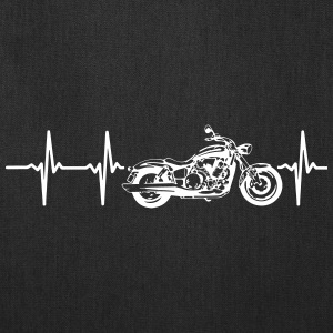 MY HEART BEATS FOR MY MOTORCYCLE Bags & backpacks - Tote Bag