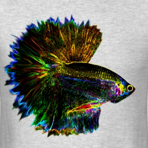 Betta Psychedelic - Men's T-Shirt