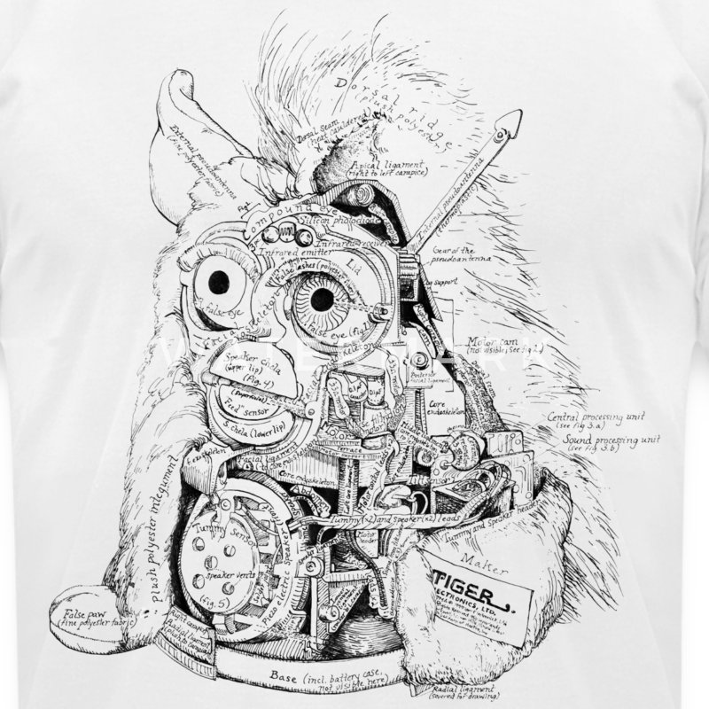 Furby - Men's T-Shirt by American Apparel