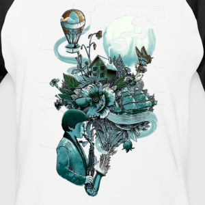 music and imaginary - Baseball T-Shirt