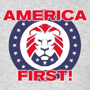 AMERICA FIRST! - Men's T-Shirt