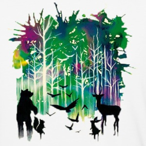 animals wildlife - Baseball T-Shirt
