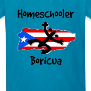 Homeschool Boricua Kids' Shirts - Kids' T-Shirt