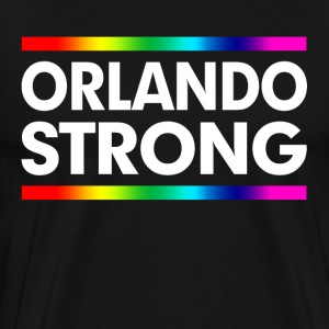 ORLANDO STRONG LOVE WINS! LOVE ALWAYS WINS! T-Shirts - Men's Premium T-Shirt