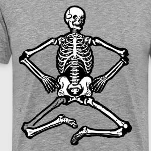 Human skeleton clip art T-Shirts - Men's Premium T-Shirt