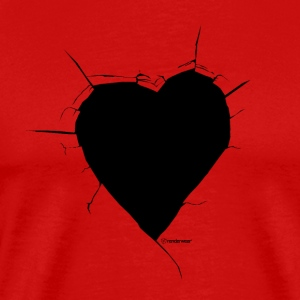Broken Heart Tee - Men's Premium T-Shirt