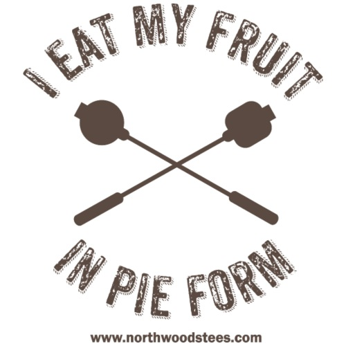 i eat my fruit in pie for