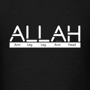 ALLAH  - Men's T-Shirt