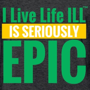 SERIOIUSLY EPIC T-Shirts - Fitted Cotton/Poly T-Shirt by Next Level