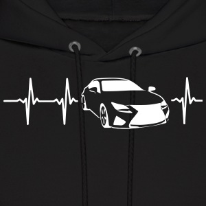 MY HEART BEATS FOR SPORTSCARS! Hoodies - Men's Hoodie