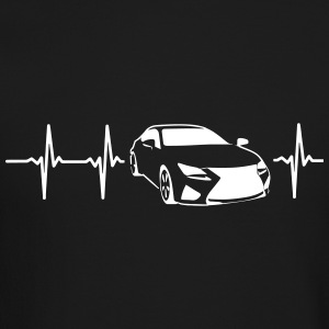 MY HEART BEATS FOR SPORTSCARS! Long Sleeve Shirts - Crewneck Sweatshirt
