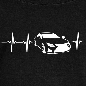 MY HEART BEATS FOR SPORTSCARS! Long Sleeve Shirts - Women's Wideneck Sweatshirt