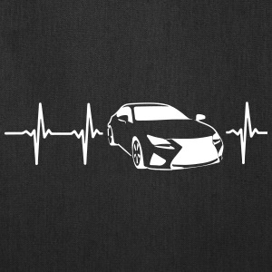 MY HEART BEATS FOR SPORTSCARS! Bags & backpacks - Tote Bag