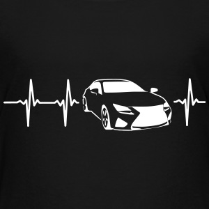 MY HEART BEATS FOR SPORTSCARS! Baby & Toddler Shirts - Toddler Premium T-Shirt