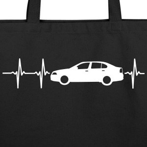 MY HEART BEATS FOR CARS! Bags & backpacks - Eco-Friendly Cotton Tote