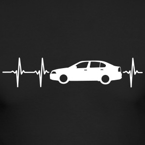 MY HEART BEATS FOR CARS! Long Sleeve Shirts - Men's Long Sleeve T-Shirt by Next Level