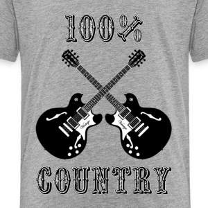 100 country - Toddler Premium T-Shirt
