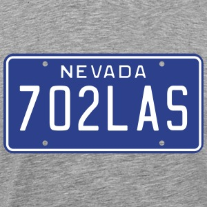 Vintage Nevada License Plate T-Shirts - Men's Premium T-Shirt