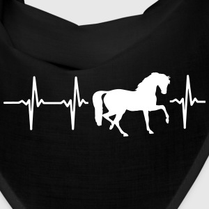 MY HEART BEATS FOR HORSES! Caps - Bandana
