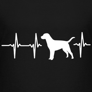 MY HEART BEATS FOR DOGS! I LOVE DOGS! Kids' Shirts - Kids' Premium T-Shirt