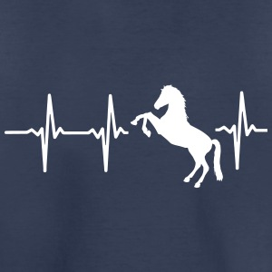 MY HEART BEATS FOR HORSES! Baby & Toddler Shirts - Toddler Premium T-Shirt
