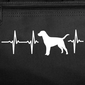 MY HEART BEATS FOR DOGS! I LOVE DOGS! Sportswear - Duffel Bag
